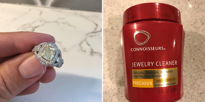 Connoisseurs Precious Jewelry Cleaner application