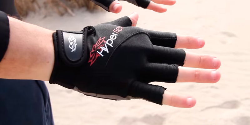 Review of Hyperflex XG15V Neoprene 3/4 Finger Glove
