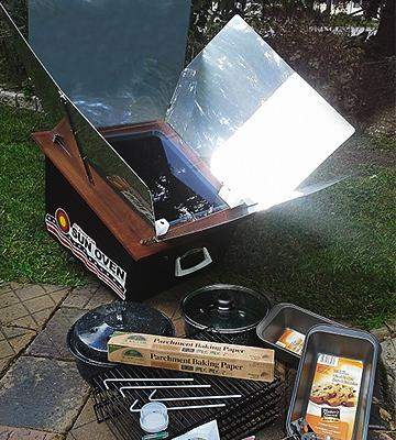 Review of Sun Oven International, Inc. All American Solar Cooker