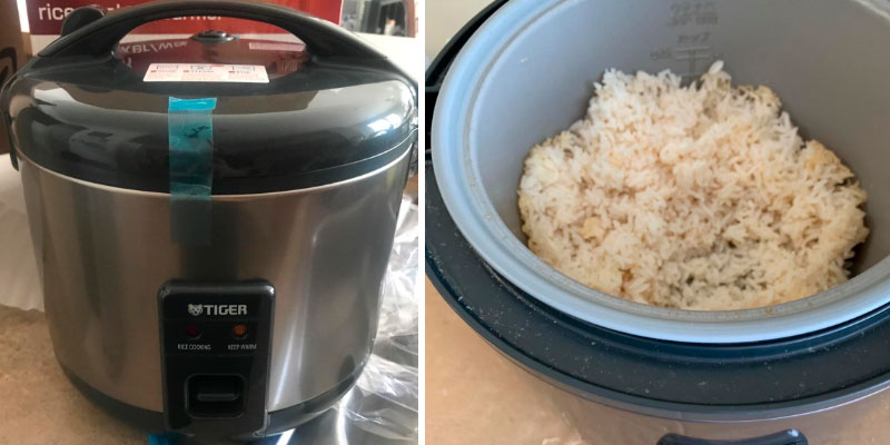 Detailed review of Tiger Corporation JNP-S55U-HU Rice Cooker and Warmer