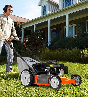 Review of Husqvarna 7021P Gas Powered 3-N-1 Push Lawn Mower