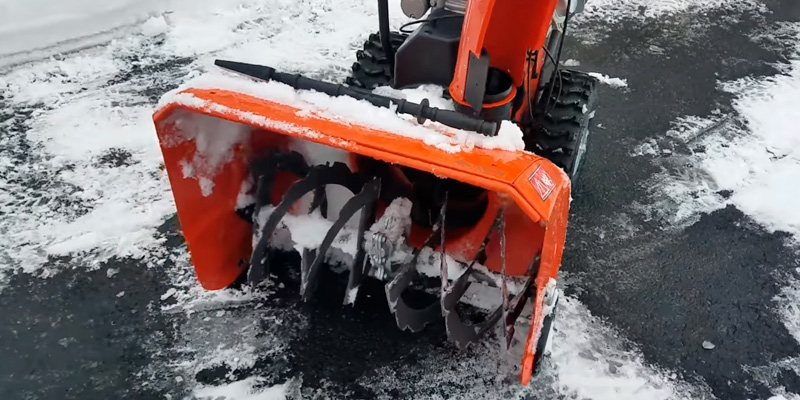 Detailed review of Husqvarna ST224P Power Steering Snowthrower