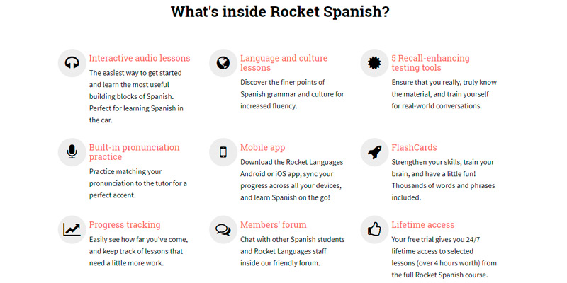 Review of Rocket Languages Online Spanish Course
