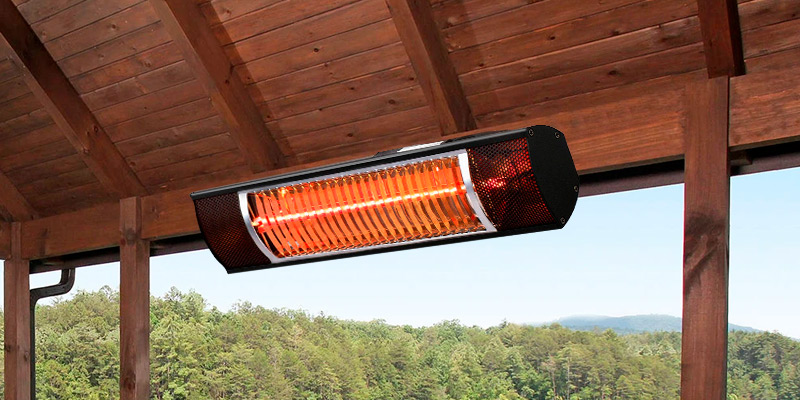 Review of Star Patio STP1580-SW Electric Patio Heater, Indoor/Outdoor Heater, Infrared Heater, Wall Mounted, Outdoor Heaters for Patio, Garage Heater, Space Heater, 1500W