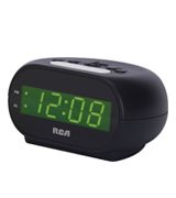 RCA RCD20 Digital Alarm Clock with Night Light