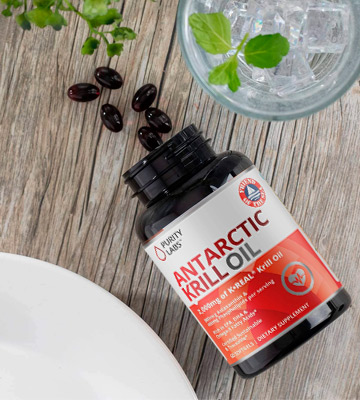 Review of Purity Labs (2000mg) Pure Antarctic Krill Oil Supplement