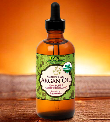 Review of US Organic Moroccan Argan Oil USDA Certified Organic,100% Pure & Natural, Cold Pressed Virgin, Unrefined