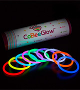 CoBeeGlow Glow Stick Necklaces 22 Inch, 100-Pack