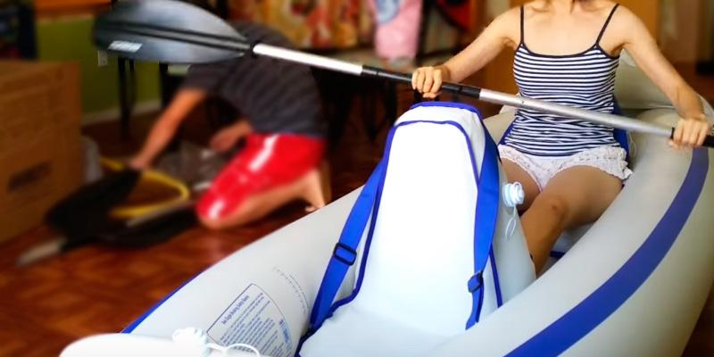 Review of Sea Eagle SE-330 Inflatable Kayak with Deluxe Package