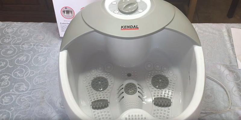 Review of Kendal All in one foot spa bath massager