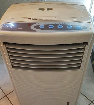 Review of Sunpentown SF-608R Portable Evaporative Air Cooler