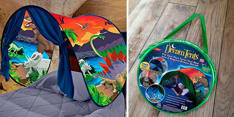 Review of Ontel Products Dinosaur Island Dream Tents