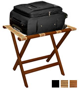 Wooden Mallet LR-MHTAP Deluxe Straight Leg Luggage Rack