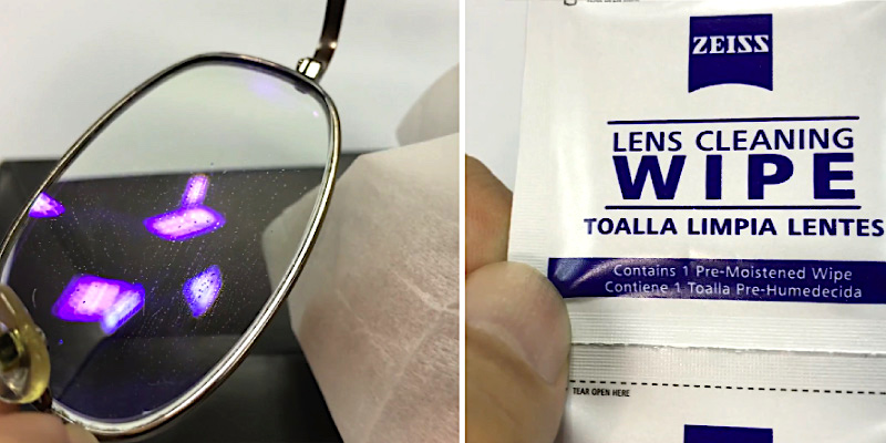 Review of Zeiss 200 Pre-Moistened Eyeglass Cleaning Wipes