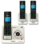 VTech LS6425-3 Expandable Cordless Phone with Answering System