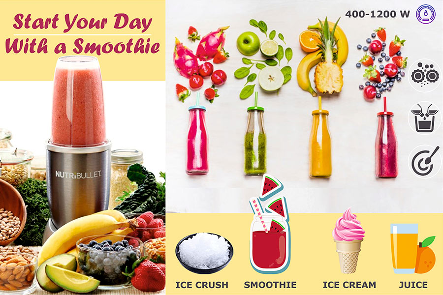 Comparison of Smoothie Makers