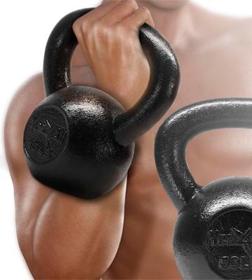 Review of Yes4All Solid Cast 5 - 80 lbs Iron Kettlebell