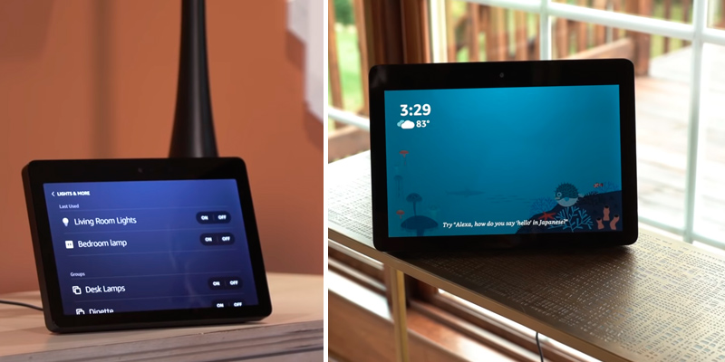 "Review of ECHO Show Premium 10.1"" HD Smart Display with Alexa"
