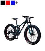 NENGGE 26 Inch Fat Tire Hardtail Mountain Bike