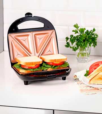 Review of Gotham Steel 2108 Sandwich Toaster