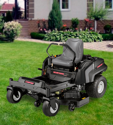 Review of Troy-Bilt Super Mustang XP Riding Lawn Mower