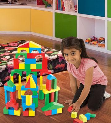Review of Melissa & Doug Building A classic creative and educational activity
