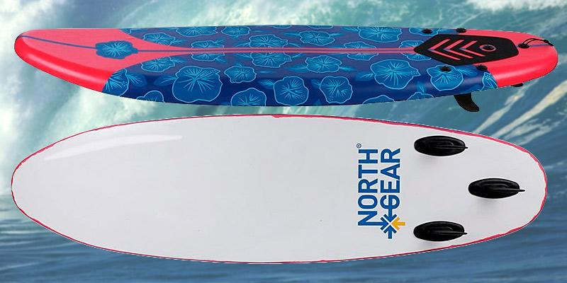 Review of North Gear 6ft Foam Surfboard