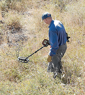 Review of Bounty Hunter PROLR Land Ranger Pro Metal Detector