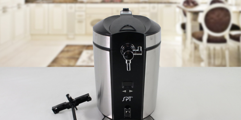 Review of SPT BD-0538 Mini Kegerator & Dispenser