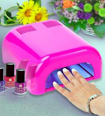 Review of Salon Sundry Professional UV Beauty Salon Nail Dryer