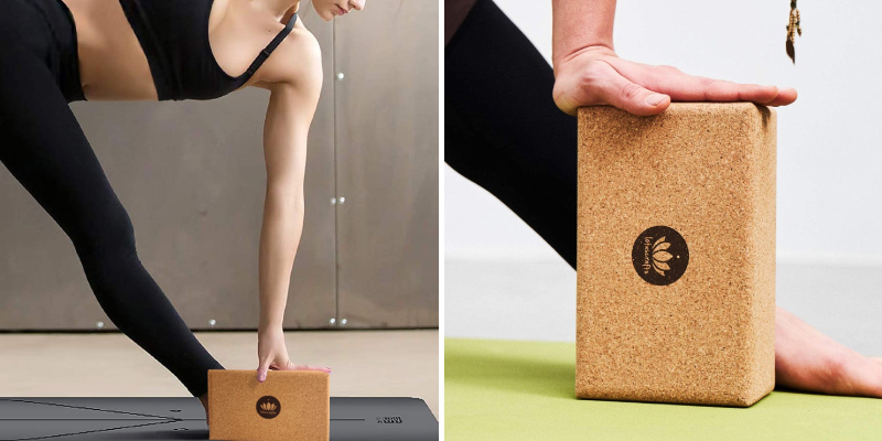 Review of Lotuscrafts Non-Slip Yoga Block Cork Supra Grip