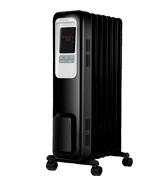 Aireplus Space Heater 1500W Oil Filled Radiator Electric Heater