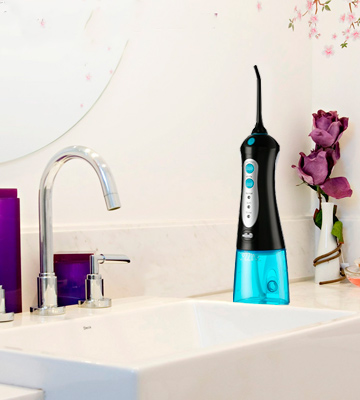 Review of MOSPRO Portable Oral Irrigator Water Flosser Professional Cordless Dental