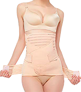 Gepoetry Postpartum Support Recovery Belly Wrap Girdle Support