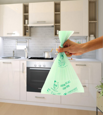 Review of UNNI ASTM D6400 100% Compostable Trash Bags