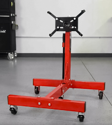 Review of Torin T26801 Big Red Steel Rotating Engine Stand with Foldable Frame (1500 lbs Capacity)