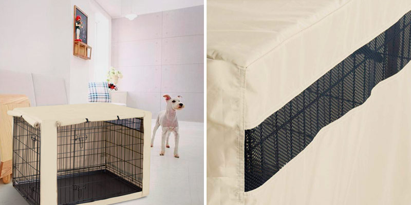 Review of HiCaptain Double Door Dog Crate Cover