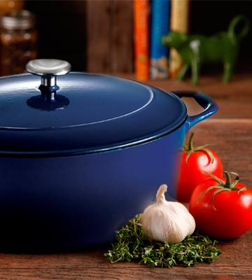 Review of Tramontina Enameled Cast Iron 7-Quart Dutch Oven