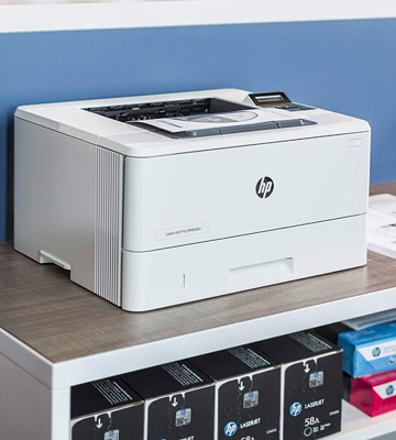 Review of HP LaserJet Pro M404dn Monochrome Laser Printer (Double-Sided Printing)