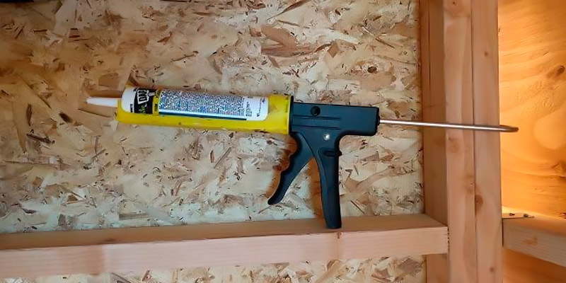 Review of Dripless ETS2000 Ergo Composite Caulk Gun