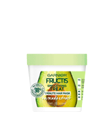 Garnier 3.4 Fl Oz Fructis Smoothing Treat 1 Minute Hair Mask with Avocado Extract