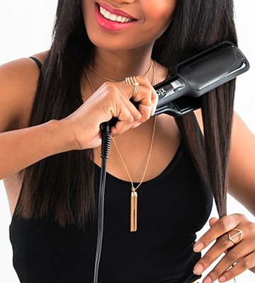 Review of Xtava Pro Satin Infrared Professional Flat Iron