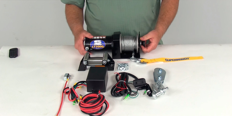 Review of Superwinch 1120210 12-Volt ATV Winch