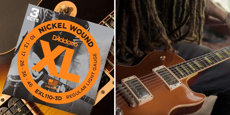 Review of D'Addario EXL110-3D Nickel Wound Electric Guitar Strings