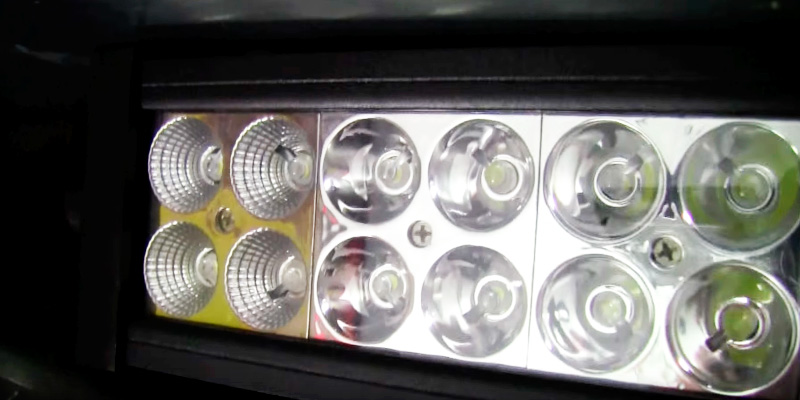 Eyourlife J_120 Combo LED Light Bar in the use