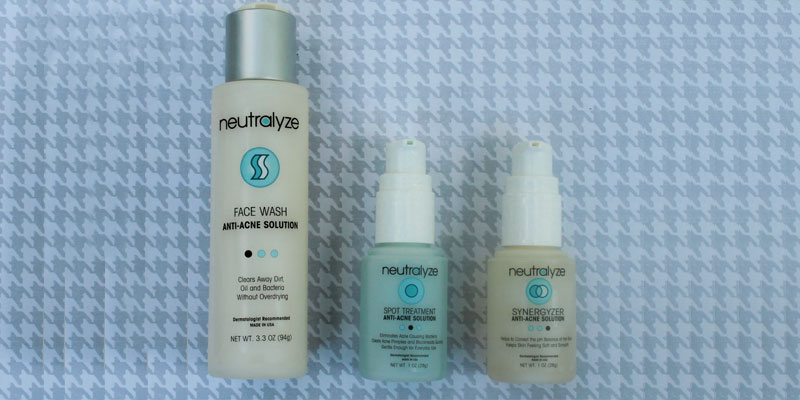 Review of Neutralyze Anti-Acne Solution Severe Acne Treatment Kit