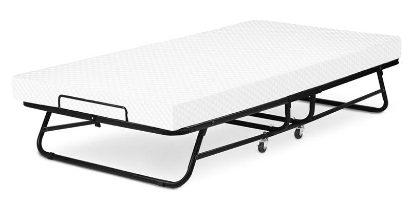 Review of LUCID LU04CTMFRB Rollaway Guest Bed with Memory Foam