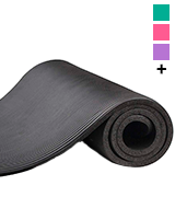 BalanceFrom GoYoga Exercise Yoga Mat with Carrying Strap