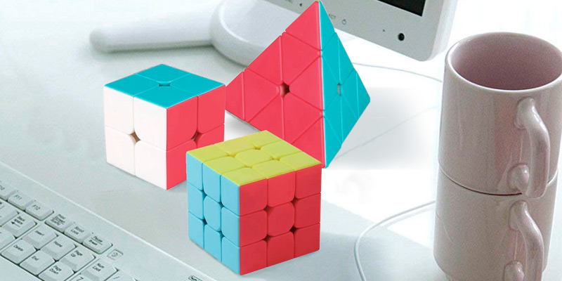Review of Roxenda Pyramid Cube Bundle Speed Cube Set