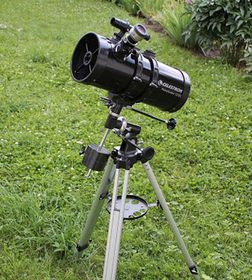Review of Celestron 21049 PowerSeeker 127EQ Telescope - Manual German Equatorial Mount
